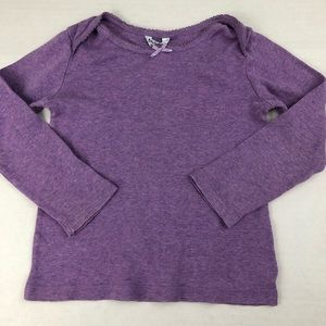 mini Boden purple Pointelle